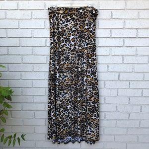 Like New LuLaRoe Animal Print Skirt - Large